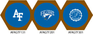 Air Force Falcons Game Table Cloth