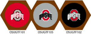 Ohio State Buckeyes Game Table Cloth