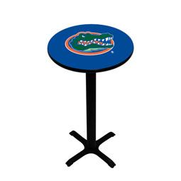 Florida Gators Pedestal Pub Table, Style 1