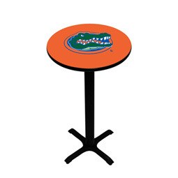 Florida Gators Pedestal Pub Table, Style 2