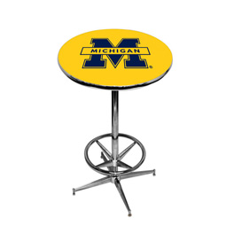 Michigan Pub Table With Foot Ring Base Style 1