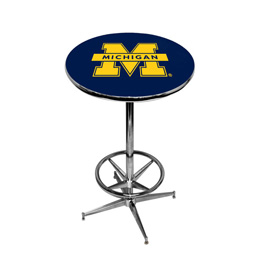 Michigan Pub Table With Foot Ring Base Style 2